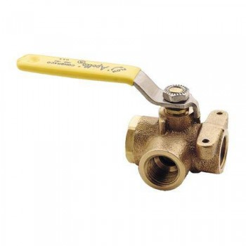 Apollo 3-Way Bronze Ball Valves