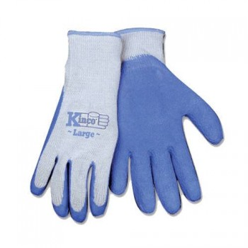 Blue Latex Palm Gripping Glove