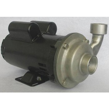 Dayton Stainless Steel Centrifugal Pump - 3/4″ Ports