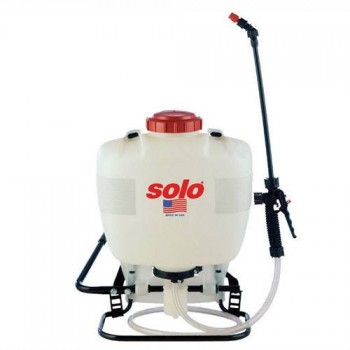 Piston Pump Backpack Sprayer - 4 Gallon