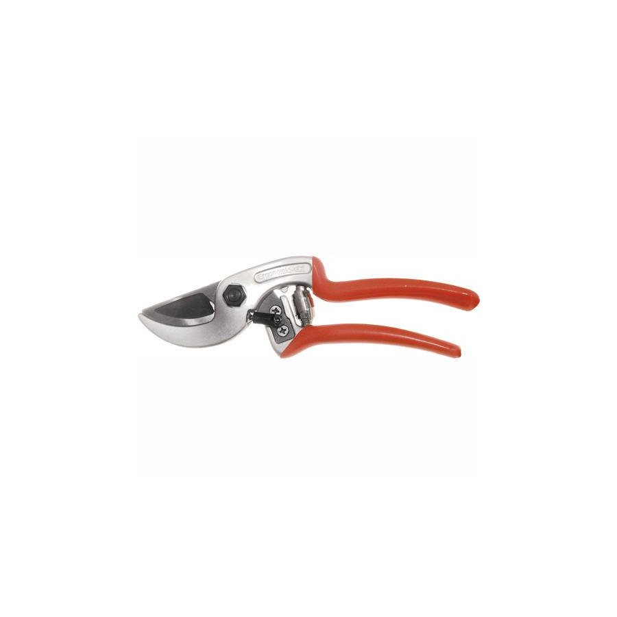 Curved Anvil Pruner Ergonomic Handle