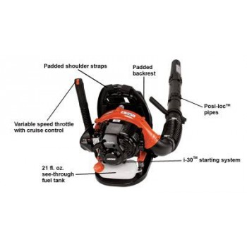 Echo PB-265LN 25.4 CC Backpack Blower with i-30 Starter d