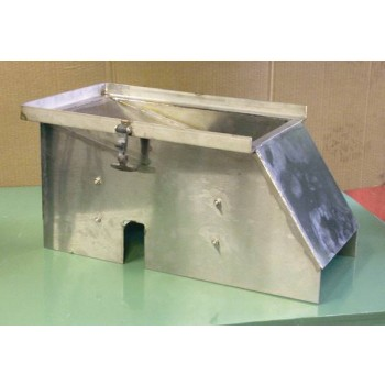 Stainless Steel Grater Box (Encloses Grater Frame & Drum)