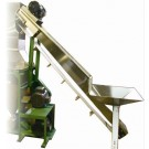 Stainless Steel Fruit Elevator for Sanifeed Unit