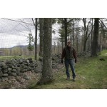 Low-Visibility HD Polyethylene Deer Net Fencing